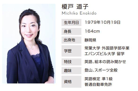 榎戸道子(えのきどみちこ)プロフィール