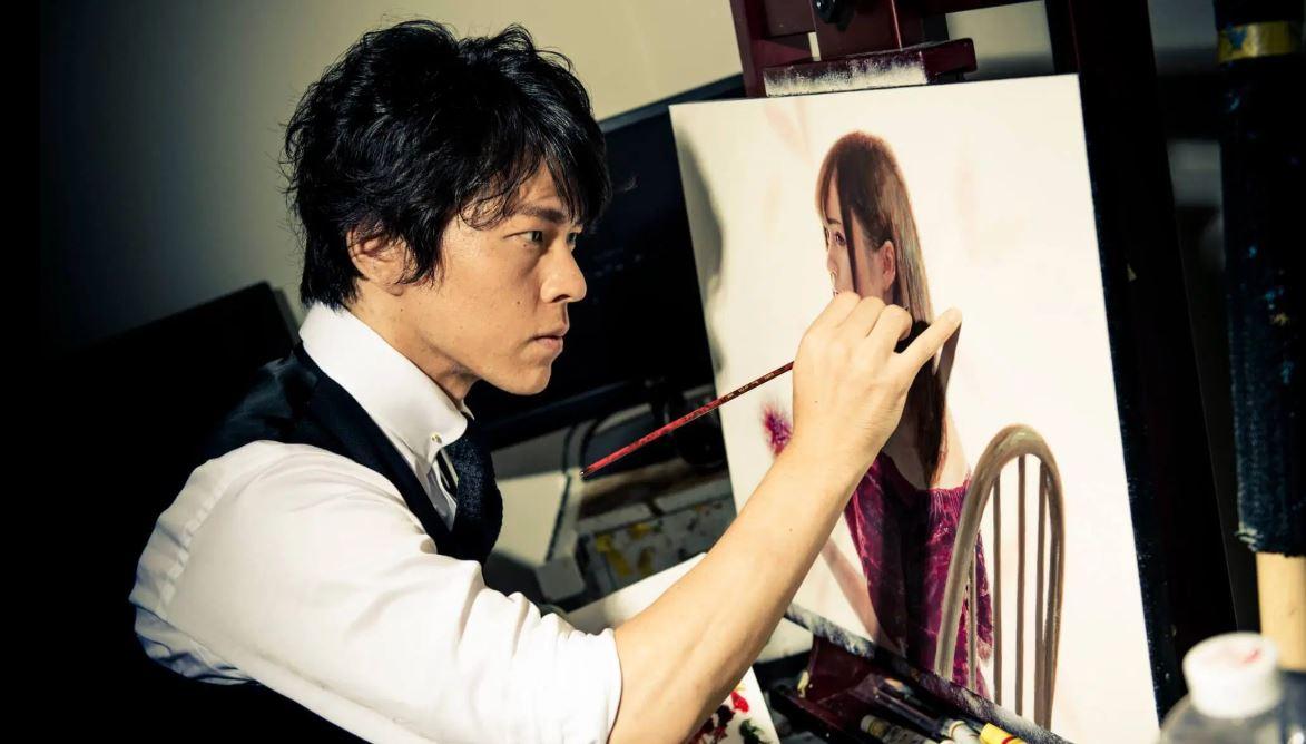 中島健太(画家)のプロフ!ベッキー・新川優愛・永島優美の肖像画が美麗すぎる!