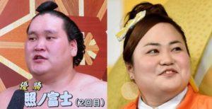 照ノ富士とゆいP(おかずクラブ)は似ている!プロフィールもどうぞ!【祝復活優勝】
